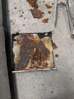 Rust, windshield seams