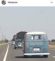 Cruising Oval Beetle split bus