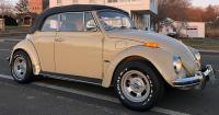 """14"""" refinished 5-slots and RWLs onto the '70 Bug"""