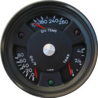 North Hollywood Speedo, Porsche style combination gauges