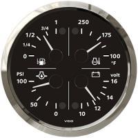 VDO Combi quad gauge