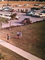 1967 Miami Springs High School East Parking Lot
