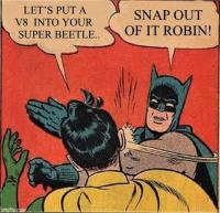 Super Beetle V8 Cartoon