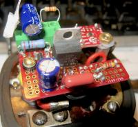 6 Volt Electronic Voltage Regulator with Hall Effect Current Regulation
