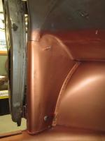 A pillar repair on 1954 Canadian custom