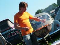 Sven the BBQ man.