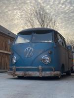 1960 Dove Blue Double Cab Rebuild