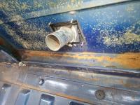 Vanagon kitchen seam rust