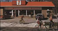 Ghia Convertible 7 Eleven Schwinn Sting Ray Mercury Cougar Vintage Photo