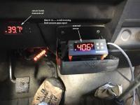 $18 transaxle external temperature gauge