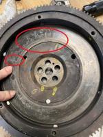 Flywheel with Radial Cracks