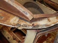 Front gutter repairs