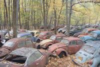 VW Graveyard somewhere in Pennsylvania 2016