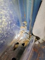 Kitchen seam rust