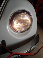 Late model city light installed