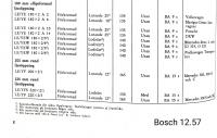 Bosch head lights