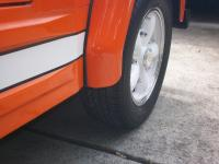 Thing front fenders to body