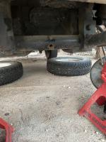 Control Arm, Trailing Arm Stuck In Beam