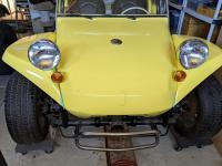 Manx front hood