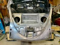 end of the front end welding