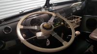 Banjo steering wheel and Retrosound San Diego radio