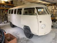 1966 Split Bus Before and After