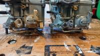 Solex v Empi accelerator pump linkage