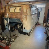 1960 camper bus