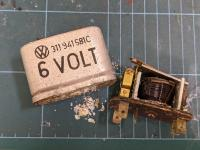 6V Headlight flasher relay