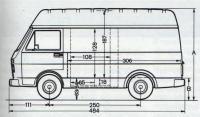 Lieutenant Van - VWLT 4x4 Interior