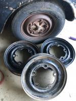 Type three factory black rims