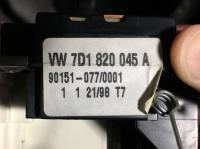 1999 EVC heater air vent controls