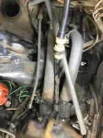 engine removal and pop top cleaning