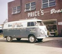 Price's donuts panel van