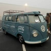 Vintage VW barndoor photo