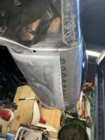 fitting the front fenders