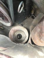 1968 VW mystery metal cylinder with foam insert