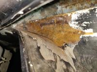 Fresh Air Inlet Rust