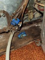 74 dometic fridge - burned wires