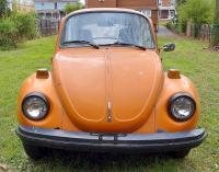 74' super beetle front