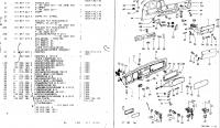 Parts list - dash and glove compartment