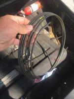 Fuel tank vent line