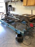 1951 Barndoor bus chassis repair