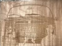 Laser Engraved VW