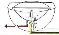 Original Left Front Headlight