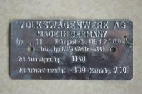 1964 vin tag example