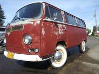 Titian red 1968 deluxe bus