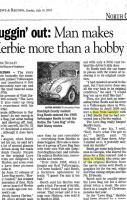 NC Herbie makes the Paper