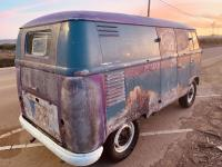 57 double door dove blue paint stripper