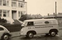 Vintage VW barndoor photo